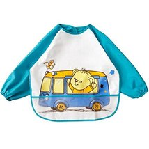 Baby Boy Girls Painting/Eating Waterproof Bibs Children's Aprons/Smock-A485 - $14.77