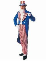 Rubie's Costume Deluxe Adult Uncle Sam Costume, Small - $46.54