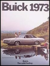 1973 Buick Prestige Brochure Regal Century LeSabre Electra Riviera 60 pgs - $7.13