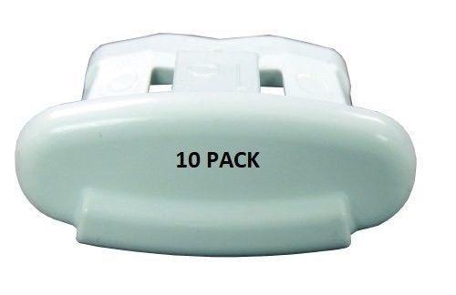 General Electric GE WD12X10304 Dishwasher End Cap Rack Clip (10 Pack) - $15.30