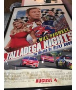 talladega nights will ferrel the ballard of ricky bobby frame poster Large - $37.62