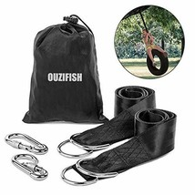 Tree Swing Hanging Straps Kit Holds 2000 lbs, 6.5ft Long Camping Straps ... - $21.86