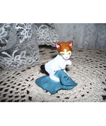 1994 TOPPS Figure Cat with Blanket - $14.95