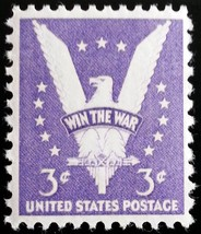 1941 3c Win the War, Eagle Scott 905 Mint F/VF NH - $0.99