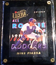 1993 Fleer Ultra Mike Piazza All Rookie Team Baseball Insert Card Number 7 - $17.99