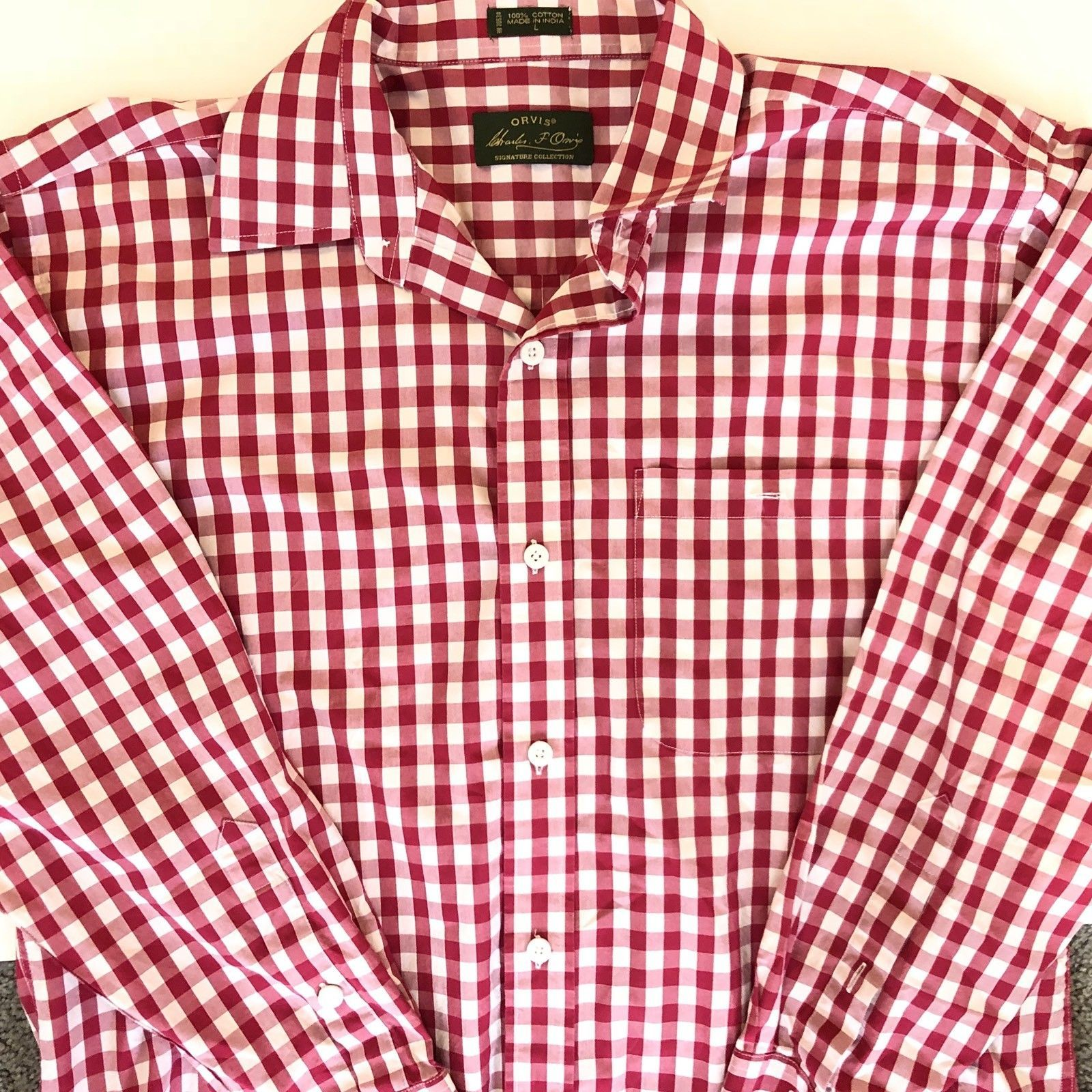8d0bef86c73 Orvis button down Polo Shirt Collar Sporting and 11 similar items. S l1600