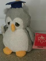 Russ Hootie Stuffed Grad Owl Figure - $5.00