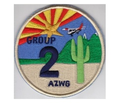 US Civil Air Patrol CAP Arizona Wing Group 2 US Air Force Auxiliary USAF... - $9.99