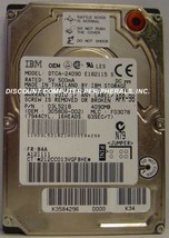 """IBM DTCA-24090 4GB 12MM 2.5"""" IDE Drive Tested Free USA Ship Our Drives Work - $24.45"""