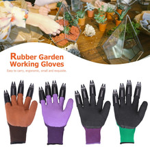 1 Pair Garden Gloves For Digging Planting Garden Working Genie Rubber Gl... - £25.13 GBP