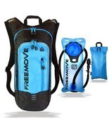 Hydration Pack Backpack Water Bladder Cooler Bag with 2L Adjustable Leak... - £49.99 GBP