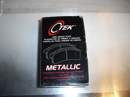 ctek  disk  brake  pads  for  chevy  metro   front ,,,102.02960 - $4.99