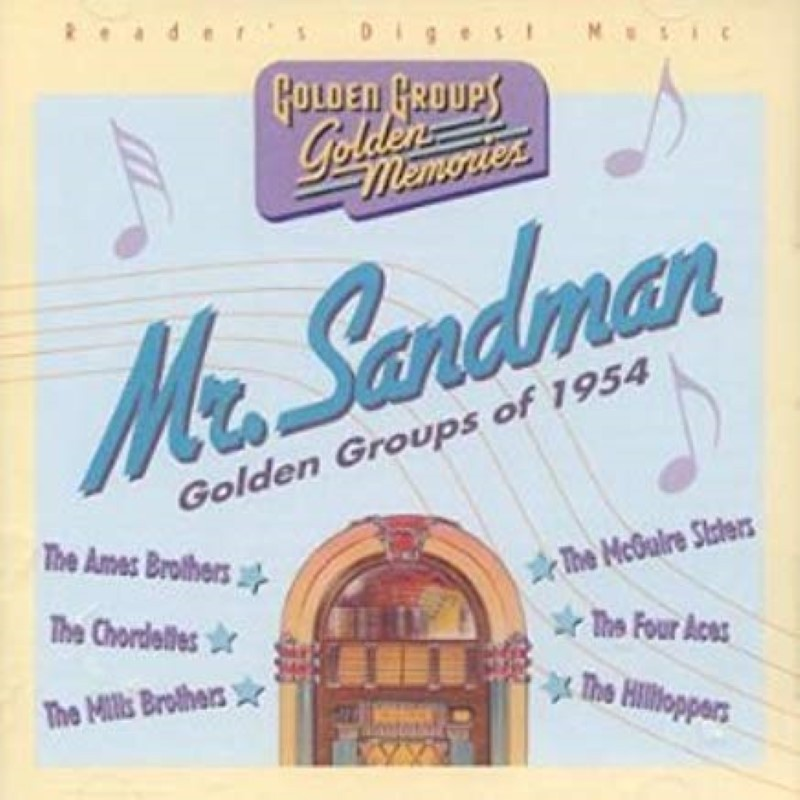 Mr Sandman Golden Groups of 1954 Cd