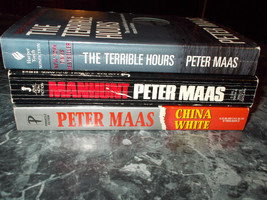 Peter Maas lot of 3 suspense Paperback - $3.99