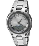 Casio Men's AW80D-7A Sports Chronograph Alarm 10-Year Battery Databank W... - £40.77 GBP