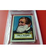 1952  TOPPS   #  71    LOOK ' N  SEE    CYRUS  McCORMICK     PSA  5   EX... - $34.99