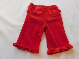 The Children's Place Baby Girl's Pants Bottoms Velour Red Size Variations NWT - $13.56