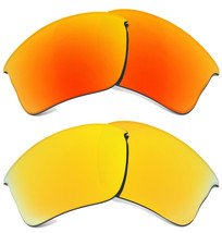 Replacement Lenses for Oakley Flak Jacket XLJ Sunglasses Anti-Scratch - $23.54