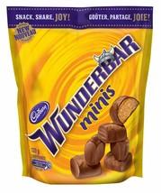 6x CADBURY WUNDERBAR Mini Chocolate Bar Bites - 120g- Canada - FRESH & D... - $35.59
