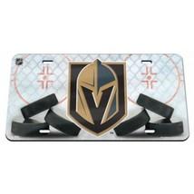 las vegas golden knights nhl ice hockey logo crystal mirror laser licens... - $45.12