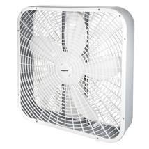 Impress 20-Inch 3-Speed Box Fan in White - $54.42