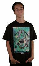 DGK Enter At Your Own Risk Gray Or Black Stripper Skater T-Shirt Graphic Tee image 3