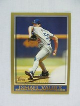 Ismael Valdes Los Angeles Dodgers 1998 Topps Baseball Card 357 - $0.98