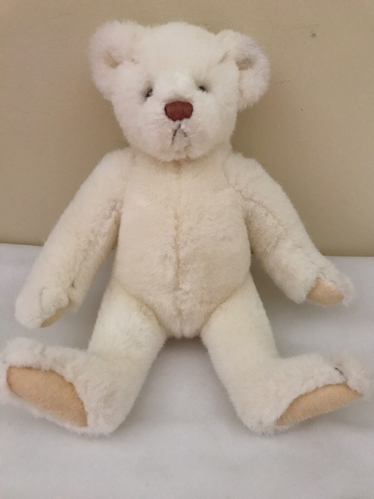 Gund Bialosky Teddy Bear Cream Ivory 1984 9""