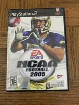 NCAA Football 2005 Playstation 2 Game - $29.58