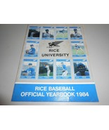 1984 Rice University Owls Baseball Official Yearbook - $2.97