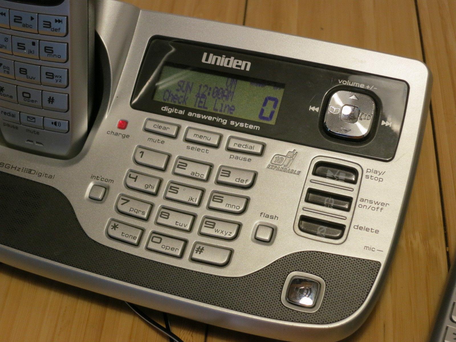 Uniden TRU8880-2HS PowerMax 5.8GHz   LINE BASE UNIT