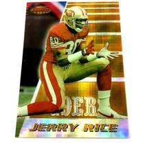 Jerry Rice 1996 Bowman's Best Atomic Refractor Parallel #135 NFL HOF 49ers - $98.95