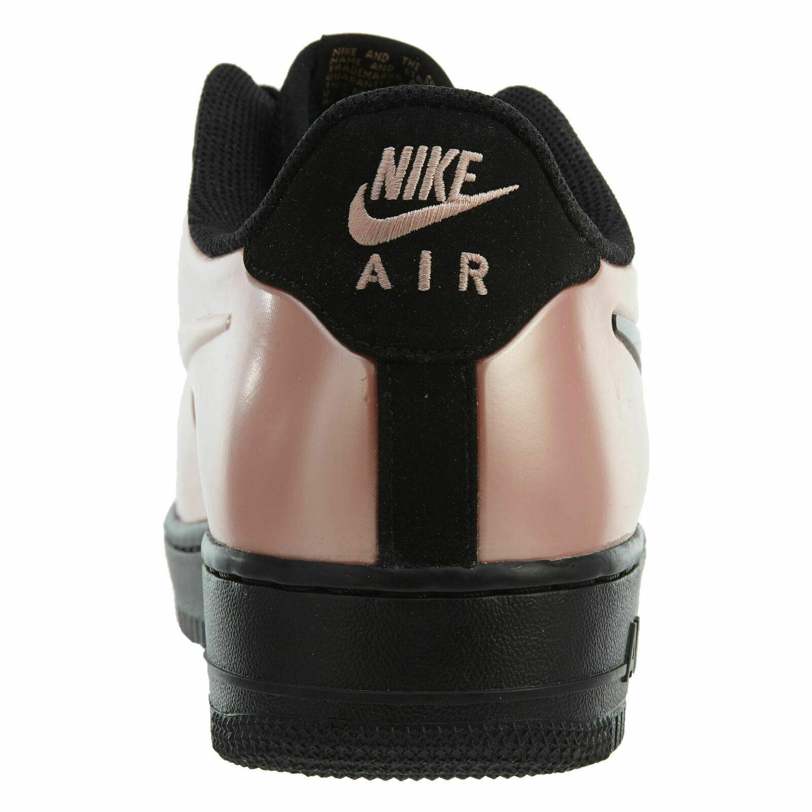 Nike Air Force 1 Schiuma pro Coppa Rosa Corallo/Nero Uomo Taglia 10 Nuovo