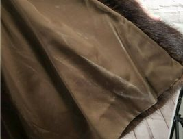Vintage Authentic Christian Dior Fourrure Brown Fur Coat Size Unknown image 9