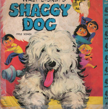 Walt Disney The Shaggy Dog Title Song Movie Golden Record - $8.54