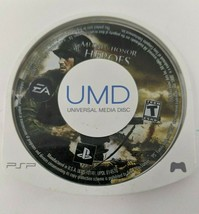 Sony PSP Medal of Honor: Heroes (Sony PSP, 2006) *Game disc only - $7.91