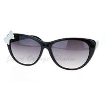 Womens Ribbon Bow Cateye Sunglasses Cute Stylish Fashionable Shades - $7.95