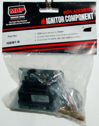 MHP IGEIB7B Weber Replacement Ignitor Component Color Black