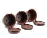 Ffee capsule pod cup filter bracket adapter for nescafe dolce gusto machines brown thumb155 crop