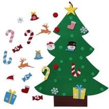 Christmas Home Decor Felt Tree Ornaments Art Hanging Wall Door Children ... - £19.83 GBP
