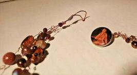 Unique 3 Strand Treasure Necklace w/ Pearls Stones Murano Glass and MUCH MORE! image 7