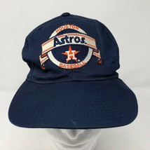 Vintage Houston Astros New Era Blue Snapback Pro Model Hat Baseball Cap ... - $54.69