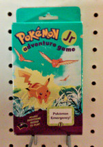 NEW - POKEMON JR ADVENTURE GAME - MADE 1999 - INCLUDES EVERYTHING NEEDED... - $24.99