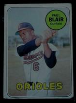 Paul Blair, Orioles,  1969  #506  Topps Baseball Card, VG COND - $0.99
