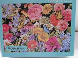"Christian Books Sandy Clough ""Be Joyful in Hope"" Butterfly 1000 Pc Jigsa... - $9.40"