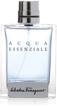 Salvatore Ferragamo Acqua Essenziale Eau de Toilette Spray for Men, 3.4 Ounce