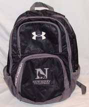 Under Armour Backpack Black Gray School Supply Newberry Volleyball Back Pack - $24.95