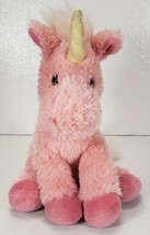 """Pink UNICORN Plush Toy LUKY by Russ Berrie, 15"""" - $19.99"""