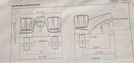 Homewerks Worldwide 10B42WYCH1BZ Chrome Two Handle Lavatory Faucet image 9