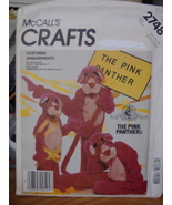 Sewing Pattern Adult Size Medium Pink Panther Costume UNCUT 2748 - $12.99